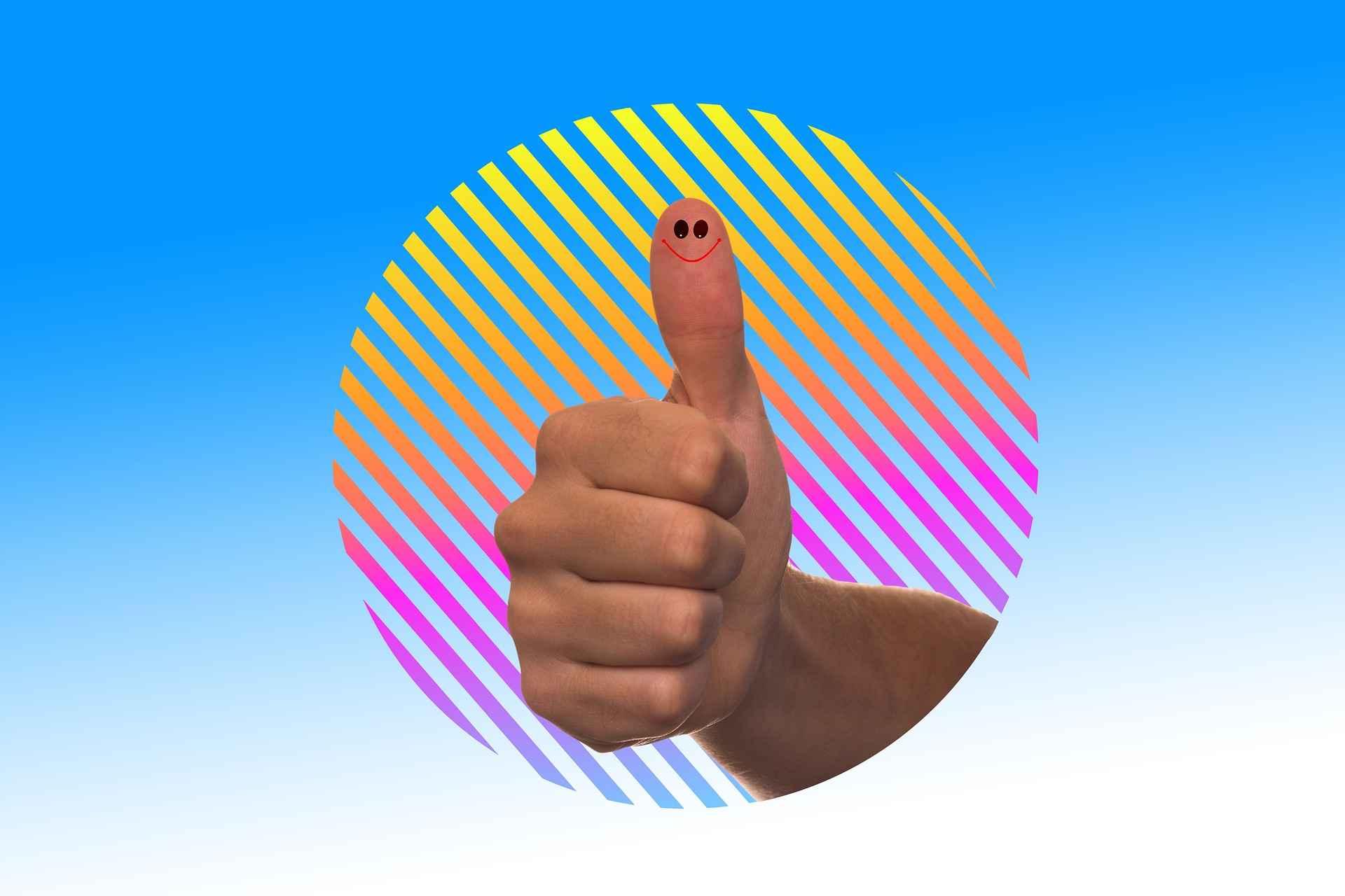 палец, който сочи наготе 15 сигнала, че ще постигнем успех