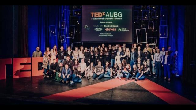 Ina Ivanova TedEx AUBG Event