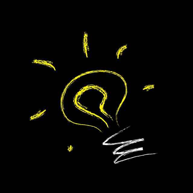рисунка на светеща ел крушка невербална интелигентност